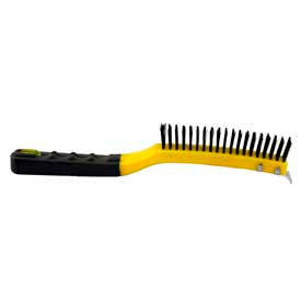 Long Handle Wire Brush W/Scraper - 997015000 - Pkg Qty 6