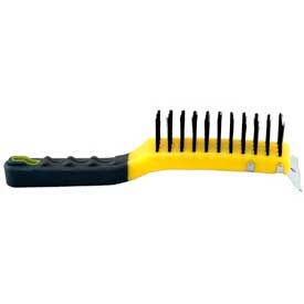 Short Handle Wire Brush W/Scraper - 997023000 - Pkg Qty 6