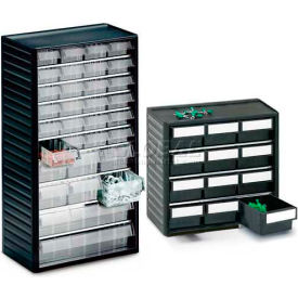Treston® Small Parts  Storage Clear Drawer Cabinets