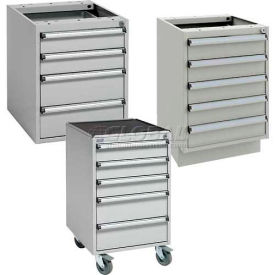 "Sovella® 17-11/16"" Wide ESD Protected Series 45 Modular Drawer Cabinets"