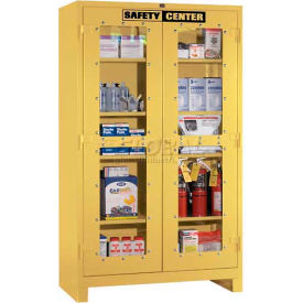 Lyon Safety Center Clear Door Cabinet