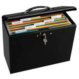 Master Lock® Steel Security File Box