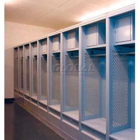 Penco Stadium Steel Lockers With Top Shelf, Security Box & Foot Locker