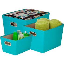 Decorative Storage Bin With Handles