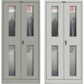 Hallowell Safety-View Door Wardrobe Cabinets