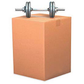 "30 x 20"" x 20"" D.W. Heavy Duty Cardboard Corrugated Box 275lb. Test - 10/Pack"