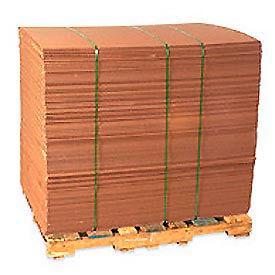 "Corrugated Sheet 42"" x 42"" 200lb. Test/ECT-32 - 5 Pack"