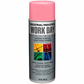 Krylon Industrial Work Day Enamel Paint Gloss Pink - A04407007 - Pkg Qty 12