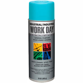 Krylon Industrial Work Day Enamel Paint Sky Blue - A04409007 - Pkg Qty 12