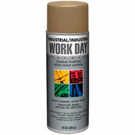 Krylon Industrial Work Day Enamel Paint Gold - A04410007 - Pkg Qty 12