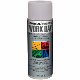 Krylon Industrial Work Day Enamel Paint Gray Primer - A04418007 - Pkg Qty 12