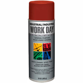 Krylon Industrial Work Day Enamel Paint Red Primer - A04419 - Pkg Qty 12