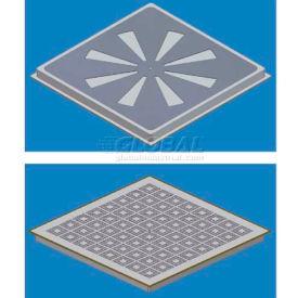 SNA Raised Floor Air Distribution Panel Kit, 2'L X 2'W, 1000 CLC, SCS2 Stringer, 27% Open, HVY