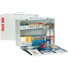 First Aid Only 90572 2 Shelf First Aid Kit w/Meds, ANSI Compliant, Class A+,...