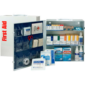 First Aid Only 90574 3 Shelf First Aid Kit w/Meds, ANSI Compliant, Class A+,...