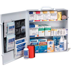 First Aid Only 90575 3 Shelf First Aid Kit w/Meds, ANSI Compliant, Class B+,...