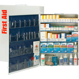 First Aid Only 90577 5 Shelf First Aid Kit w/Meds, ANSI Compliant, Class B+,...
