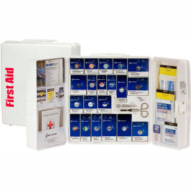 First Aid Only 90580 Large SmartCompliance Plastic First Aid Cabinet, ANSI...