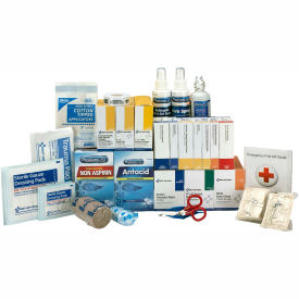 First Aid Only 90620 First Aid Refill w/Meds For 3 Shelf Kit, ANSI Compliant,...