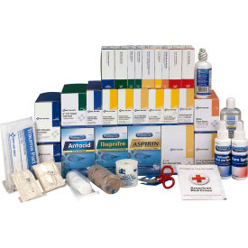 First Aid Only 90625 First Aid Refill w/Meds For 4 Shelf Kit, ANSI Compliant,...