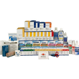 First Aid Only 90626 First Aid Refill w/Meds For 5 Shelf Kit, ANSI Compliant,...