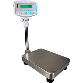 "Adam Equipment GBK16a Digital Bench Checkweighing Scale 16lb x 0.0002lb 11-13/16 x 15-11/16"" Plat."