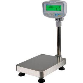 "Adam Equipment GBK70a Digital Bench Checkweighing Scale 70lb x 0.002lb 11-13/16 x 15-11/16"" Plat."