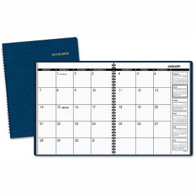 AT-A-GLANCE® Monthly Planner, 9 x 11, Navy, 2019