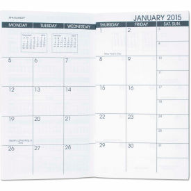 AT-A-GLANCE® Pocket Size Monthly Planner Refill, 3 1/2 x 6 1/8, White, 2018-2019