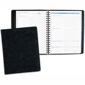AT-A-GLANCE® The Action Planner Weekly Appointment Book, 8 1/8 x 10 7/8, Black, 2019