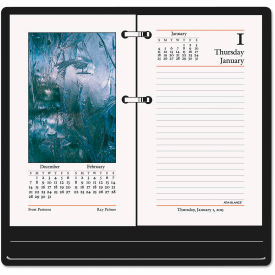 AT-A-GLANCE® Photographic Desk Calendar Refill, 3 1/2 x 6, 2019