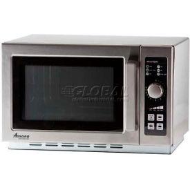 Amana® RCS10DSE - Commercial Microwave, 1.2 Cu. Ft., 1000 Watt, 10-Minute Dial