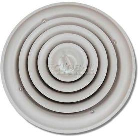 "Speedi-Grille Round Ceiling Vent Register Cover Adj. Bowtie Damper SG-RCR 14 14"""