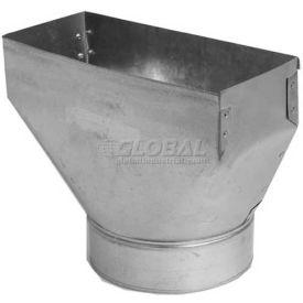 "Speedi-Boot Stack Range Hood Straight Boot SM-RH3106 SB 3.25"" X 10"" X 6"""
