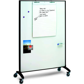 """Quartet Motion™ Room Divider, Double Sided, 36""""W x 72""""H"""