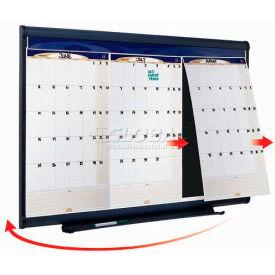 "Quartet® Prestige® Monthly Calendar, 36""W x 24""H, Total Erase®, 1-Month Design"