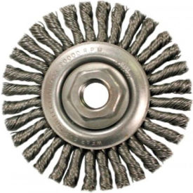 Stringer Bead Knot Wire Wheels-Stcm Series-Very Narrow Face, Anderson Brush...