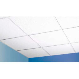 "Baroque™ Mineral Fiber Ceiling Tile BET-157, Trim Edge, 24""L, 16 QTY"