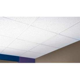 "Directional Fissured Mineral Fiber Ceiling Tile FH-197, Trim Edge, 48""L, 8 QTY"