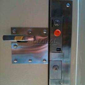 Bike Locker Opt.-Coin Operated Locks With Locking Bar System