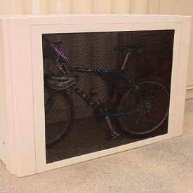 Bike Locker Option-Outside Wall On 302, 301, 301P, 301W & 301V Lockers