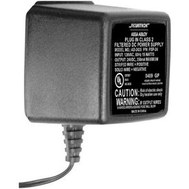 24 Volt 1.5 Amp. Plug-In Filtered Regulated DC Power Supply by