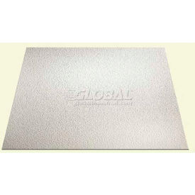 Genesis Stucco Pro Ceiling Panel 760-00, Waterproof & Washable, 2'L X 2'W, White