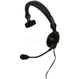 Single Muff Headset w/ In-Line PTT