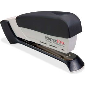 PaperPro® Spring-Powered Desktop Stapler, 20 Sheet Capacity, Black/Gray