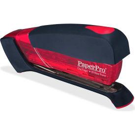 PaperPro® Spring-Powered Desktop Stapler, 20 Sheet Capacity, Translucent Red