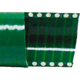 "1-1/4"" Green PVC Water Suction Hose, 20 Feet"