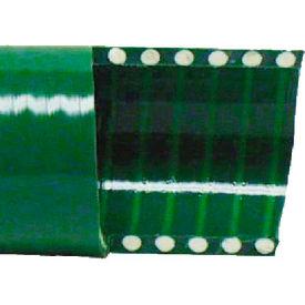 "6"" Green PVC Water Suction Hose, 40 Feet"