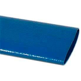 "1-1/2"" PVC Lay Flat Discharge Bulk Hose, 100 Feet"