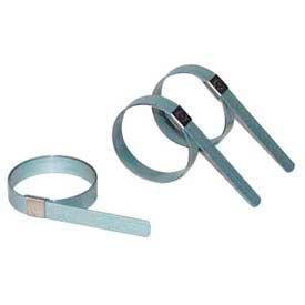 """Apache 40029120 CP0699 1-1/2"""" Band-It Carbon Steel Center Punch Preformed Galv Clamp w/ 5/8"""" Band"""